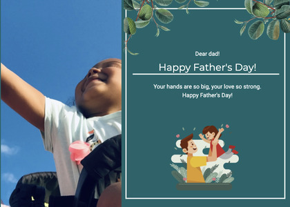 fathersday card 190 person human