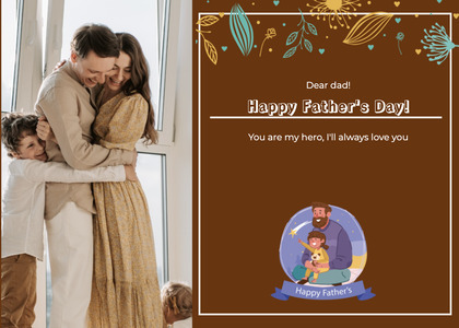 fathersday card 195 person human