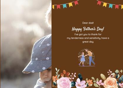 fathersday card 198 flyer brochure