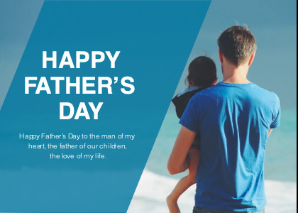 fathersday card 2 person clothing