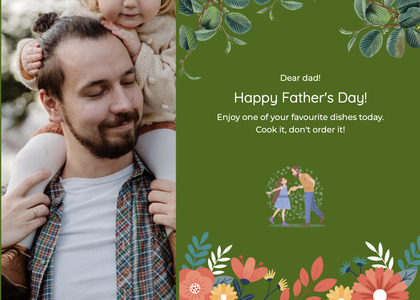 fathersday card 200 person tie