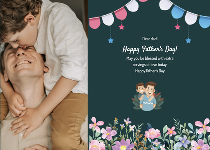 fathersday card 201 person human