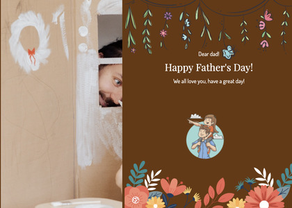 fathersday card 206 person human