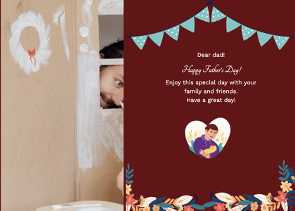 fathersday card 208 person human