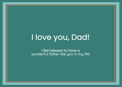 fathersday card 21 business card paper