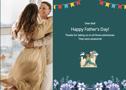 fathersday card 212 person human
