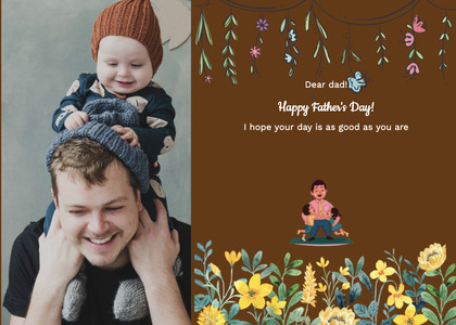 fathersday card 213 clothing person