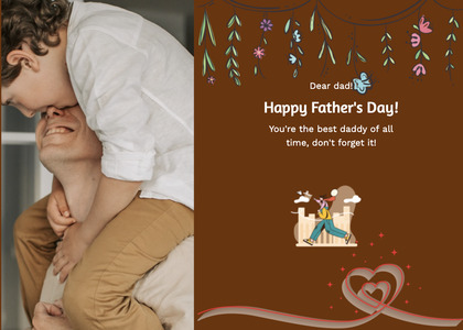 fathersday card 214 person human