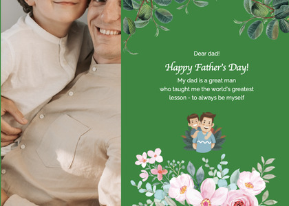 fathersday card 215 person human