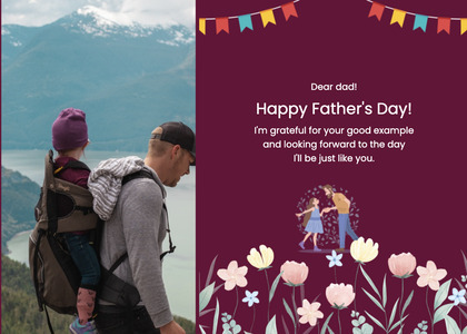 fathersday card 223 person human