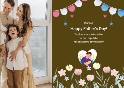 fathersday card 226 person homedecor