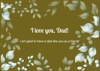 fathersday card 24 floraldesign graphics