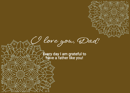 fathersday card 26 text pattern