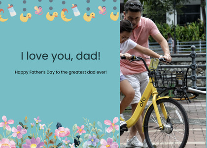 fathersday card 268 person human