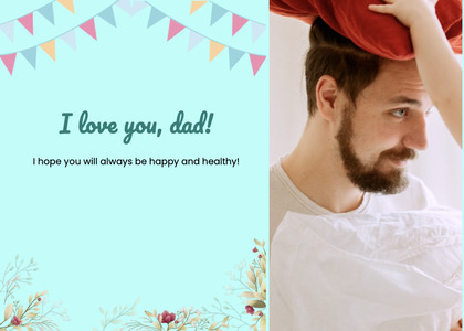 fathersday card 275 person human