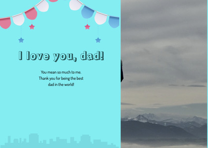 fathersday card 276 nature outdoors