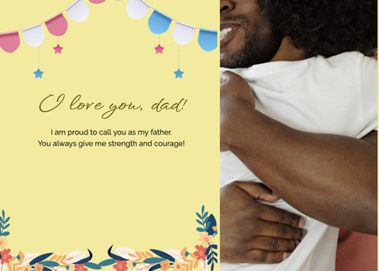 fathersday card 278 person human