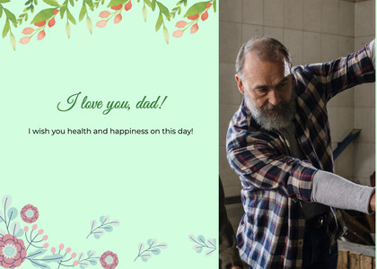 fathersday card 281 person human