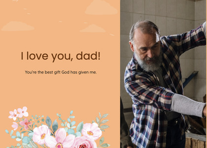 fathersday card 282 person human