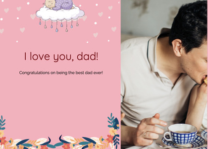 fathersday card 284 person human