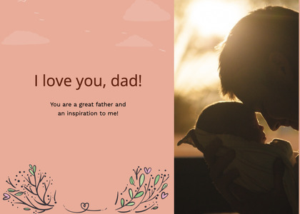 fathersday card 288 person human