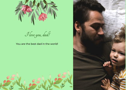 fathersday card 296 person human