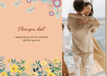 fathersday card 298 person human