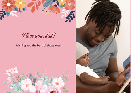 fathersday card 300 person human