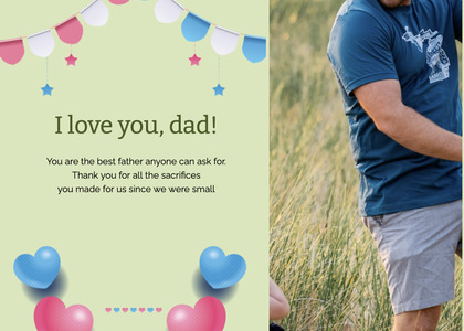 fathersday card 304 person human
