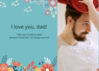 fathersday card 306 person human