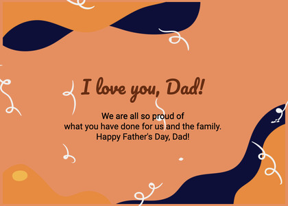 fathersday card 310 text paper