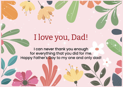 fathersday card 311 label text