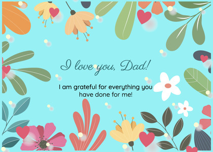 fathersday card 312 label text