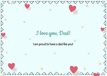 fathersday card 316 paper confetti