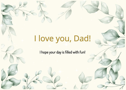 fathersday card 328 floraldesign graphics