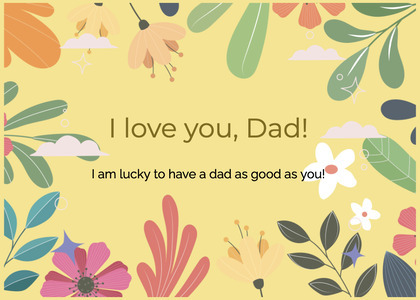 fathersday card 337 floraldesign graphics