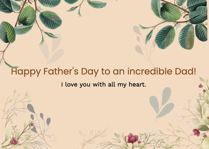 fathersday card 68 floraldesign graphics