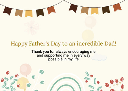 fathersday card 71 flyer paper