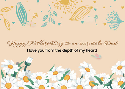 fathersday card 74 floraldesign graphics