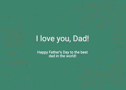 fathersday card 9 text advertisement