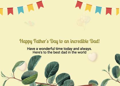 fathersday card 99 plant pottedplant
