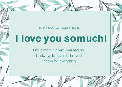 friendship card 5 flyer advertisement