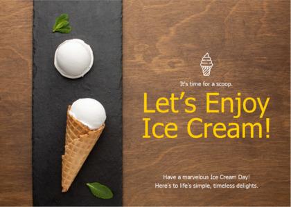 friendship card 9 cream dessert
