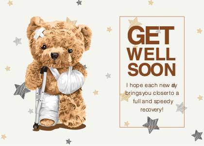 getwellsoon card 5 toy teddybear