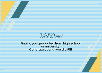 graduate card 100 text page