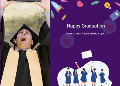 graduate card 112 person advertisement