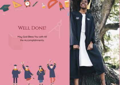 graduate card 13 clothing female