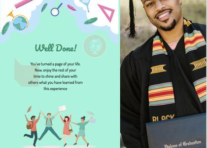 graduate card 20 person human