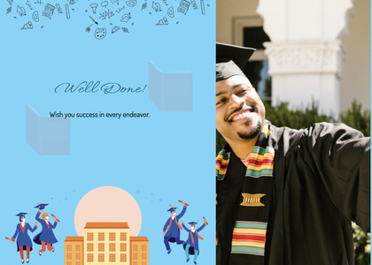 graduate card 21 person human