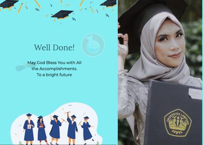 graduate card 27 person female